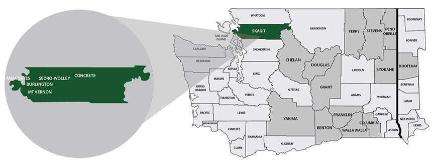 Skagit County Trends Our Home map